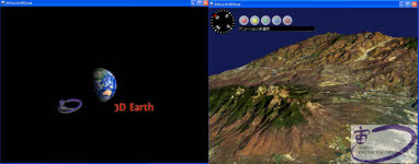 3D Earth VRView